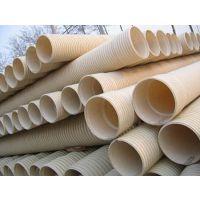 大口径大压力(百牛塑胶)波纹管PVC排水管Dn400