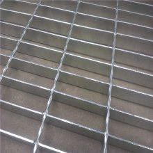 旺来工厂车间平台踏步板 热镀锌q235钢格板
