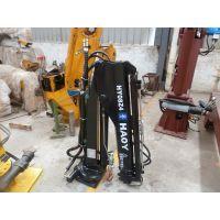 批发零售小吊机折叠式手动控制1.3吨皮卡车载小吊机液压油缸徐州昊意科技HY1.3Z-4