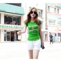 供应厂家直销大量现货便宜T恤的女装夏季短袖T恤衫几元地摊服装货源厂家批发