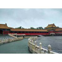上海展览公司--大雨造就北京海唯有故宫成小洲