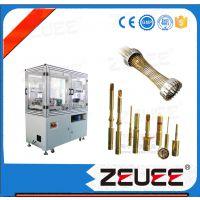 ZEUEE线簧孔穿丝机 连接器制造设备 双曲面线簧插孔绞线插针自动化设备