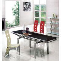 厂价供应五金家具、餐台、餐椅、玻璃餐台、餐桌。