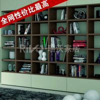 家具厂家直销定做实木家具批发 五年免费维修好质量书柜置物架