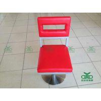 现代时尚皮革金属椅 高档餐桌椅 现代餐椅 不锈钢餐台椅 欢迎定做