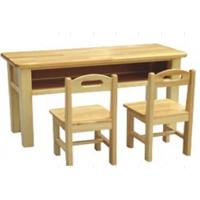 厂家定做学生实木课桌椅