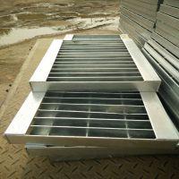 水电厂停车场热镀锌钢格栅板 配套安装夹 厂家直销 专业焊接团队