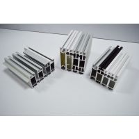 供应6063工业铝型材,双槽铝型材,氧化,喷涂,电泳铝合金