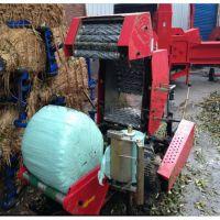 厂家直销打捆机 天山牧场青贮打捆包膜机械 鼎达