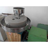 原生态小麦杂粮石磨面粉加工设备 全自动或半自动面粉石磨机 振德机械
