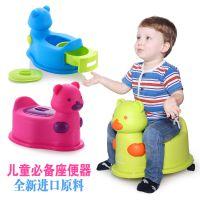 布丁小熊儿童坐便器婴儿坐便器马桶 宝宝座便器宝宝便盆幼儿尿桶