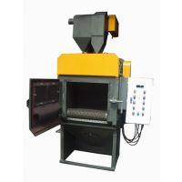 供应履带式抛丸机,铝件表面处理抛丸机价格