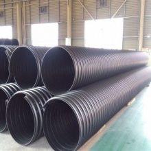 厂家直销PE大口径钢带增强波纹管DN1500