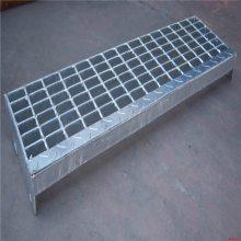 旺来热镀锌钢格栅板 格栅板生产厂家 踏步板厂家
