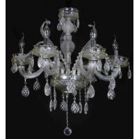 CVMA厂家直销 5024C-6A奢华K9水晶吊灯 欧式卧室白炽灯 客厅餐厅水晶吊灯