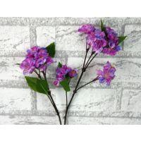 外贸出口仿真花批发外贸家居装饰绢花植物工艺品樱花单枝
