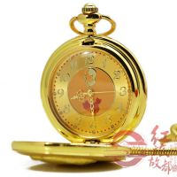 辉达手表厂家批发 毛主席头像金属怀表 高档商务馈赠礼品手表