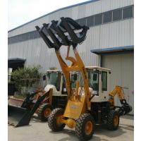 轮式小型挖掘机 多功能挖掘装载机 两头忙破碎锤 抓草机叉车