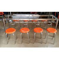 贵州食堂餐桌椅价格 员工饭堂餐桌安装 4人6人8人位圆凳桌椅 玻璃钢不锈钢生产厂家 康腾体育
