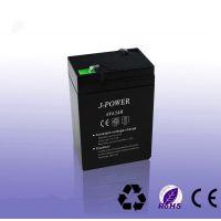 6V4.5AH专用应急灯太阳能蓄电池特价供应6V铅酸电池6V电瓶易维护