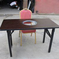 海德利供应四人餐桌椅组合 优质实木快餐桌椅 量大从优