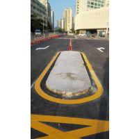 珠海夏湾豪骏市场道路交通设施热熔标线工程