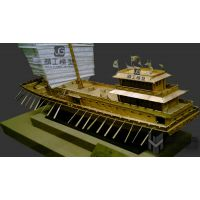 供应福建精工模型来图定制动态智能海洋系统游艇码头沙盘模型,皮质好,价格优。