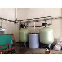 供应天津水处理设备,天津软水器,源莱型号HLC-1500双阀双罐