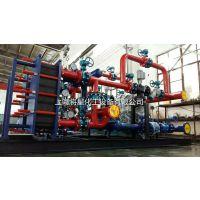 上海将星闸北区彭浦镇 的智能板式换热机组厂家 供应中央空调采暖 换热站配套供暖 暖通行业专用