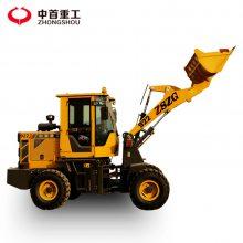 山东青岛四驱无级变速小型铲车20小装载机价格中首中工小型装载机配件名称