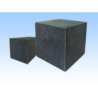 蜂窝状活性炭厂 100*100*100 多种规格耐水型气相型蜂窝活性炭