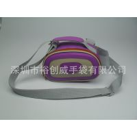 低价批发供应便携式小巧工具包 紫色单肩拉链精致小包批发ycw8259
