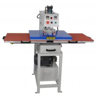 厂家供应液压双工位烫画机多功能热转印机服装牛仔裤烫金机