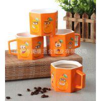 韩版优质水杯 来自星星的你骨瓷水杯 波点可爱定制情侣奶茶杯子