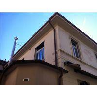 上海振协铜檐沟定制、无缝紫铜落水管、铜天沟落水系统
