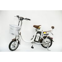 供应家用小型锂电池电动车 48v14寸助力代步自行车电单车 厂家直销 新品 飞扬