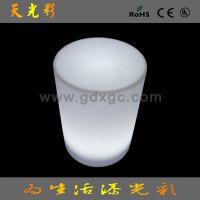 时尚LED发光圆桌子 PE发光LED家具 塑料发光LED圆桌子 家具