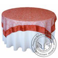 厂家专业个性订做 彩色涤纶提花酒店餐厅桌布台布 可混批