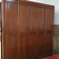 美希恩高端金丝檀木中式实木衣柜进口卧室整体衣柜可定制505