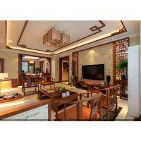今朝装饰老房装修155平米绿城百合中式风格