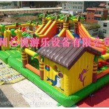 贵州新款丛林探险充气城堡/心悦儿童充气滑梯组合城堡pvc弹跳蹦床质量怎么样