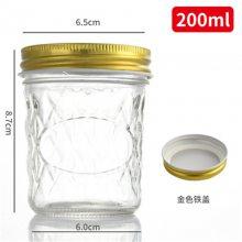 玻璃豆瓣酱瓶批发厂家宏华120ml玻璃瓶