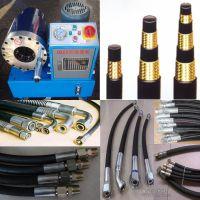生产钢丝编织胶管缠绕胶管高压钢丝增强液压管