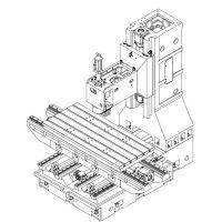 台正立式数控加工中心光机线轨L1890B  全国知名品牌
