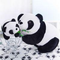 超低特价国宝大熊猫公仔趴趴熊猫毛绒玩具情人节儿童节女生日礼物