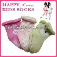 供应广东袜子厂 儿童袜子批发 毛巾童袜公司