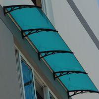 耐力板雨棚|耐力板雨棚价格|河南誉耐耐力板雨棚厂家