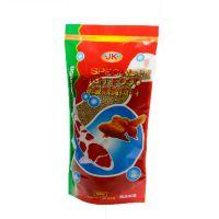 鱼乐美鱼之宝鱼食日本 锦鲤鱼饲料 金鱼饲料 特级观赏鱼鱼料200G