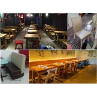 北京酒店餐饮家具订做-火锅烧烤桌生产餐厅卡座沙发餐桌餐椅订做-简约-北京吉瑞斯家具厂