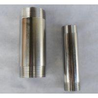 加工定做非标不锈钢螺纹管件 单头丝 内丝 外丝